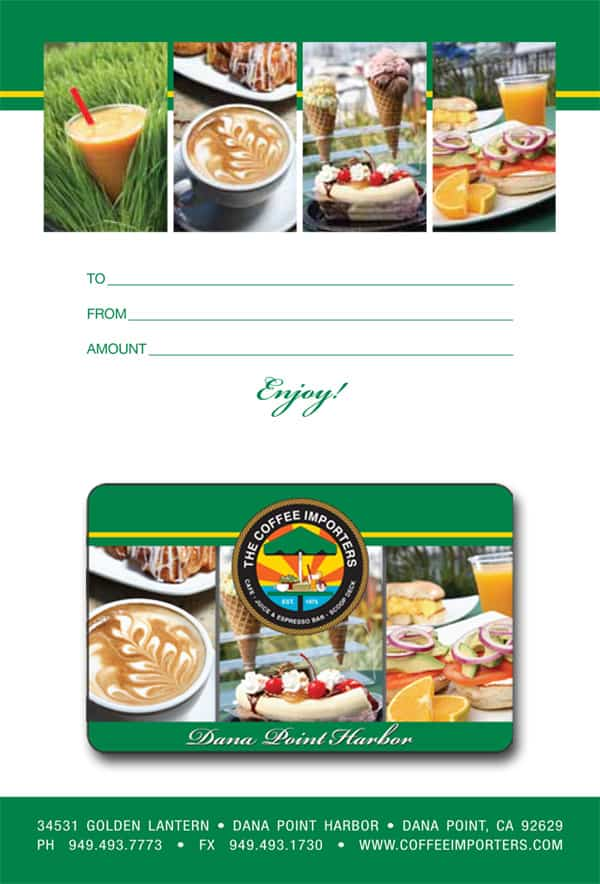 Image of Coffee Importers Gift Card